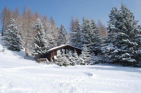 Winter, Felixhütte in Treffen, Kärnten, Carinthia , Austria
