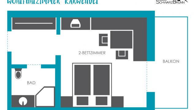 """Feel-good"" room ""Karwendel"" 4/4"