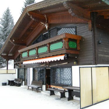 Winter, Berghütte Inntalblick, Niederndorferberg Praschberg, Tirol, Tyrol, Austria