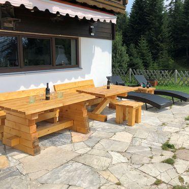 Terrasse, Berghütte Inntalblick, Niederndorferberg Praschberg, Tirol, Tirol, Österreich