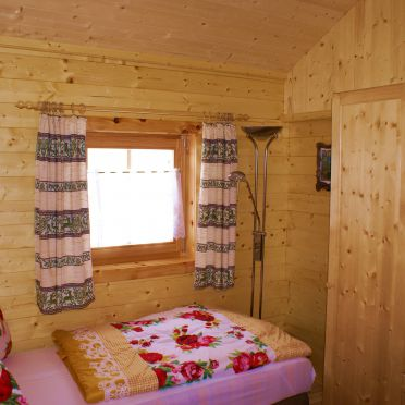 Almwiesenhütte, Schlafzimmer
