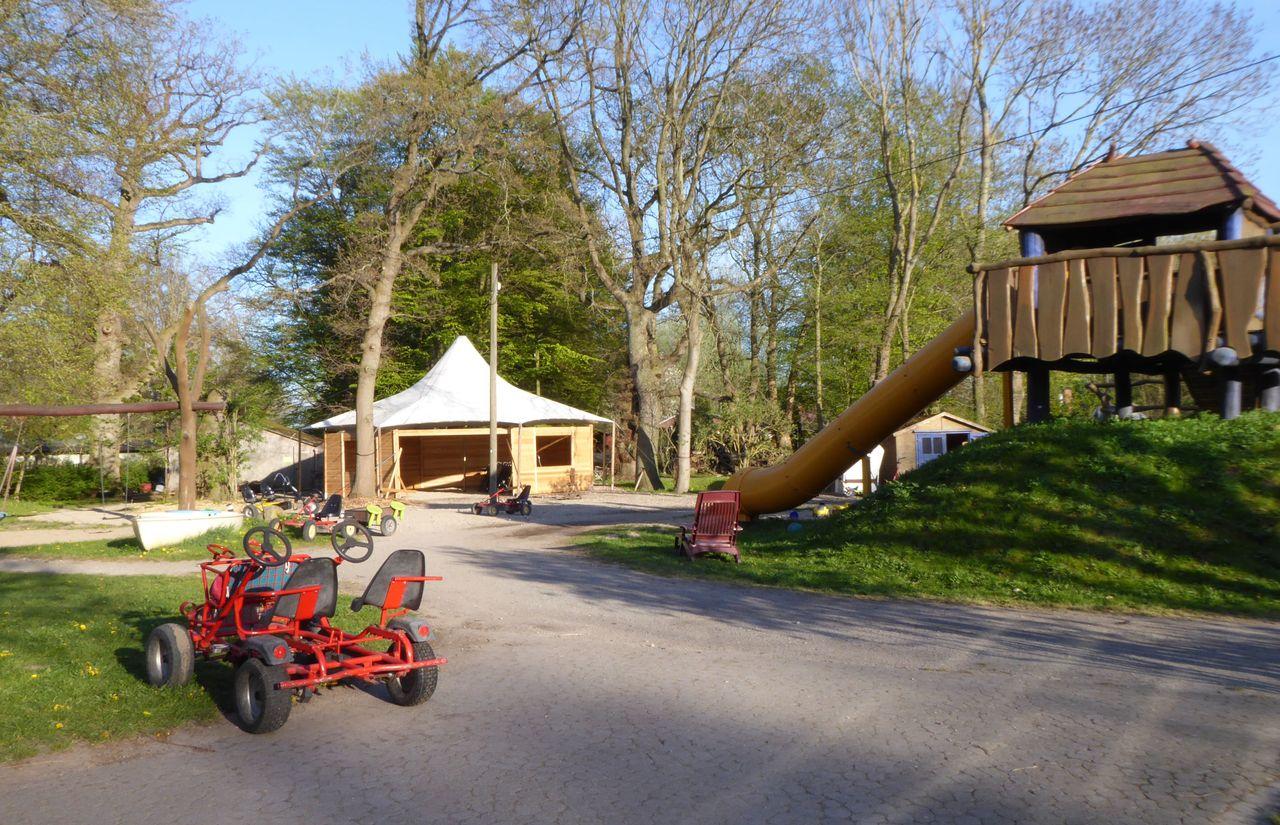 Biohotel Gut Nisdorf: Spielplatz