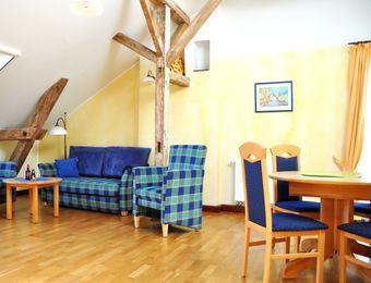 """3-Zimmer-XL Appartement """"Seeadler"""" - Gut Nisdorf - Bio Urlaub an der Ostsee"""