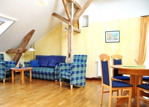 Biohotel Gut Nisdorf Zimmer Suite Seeadler (1/3) - Gut Nisdorf - Bio Urlaub an der Ostsee