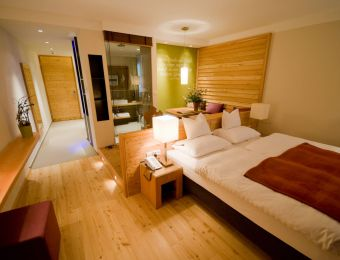 Doppelzimmer Lärche - Bio-Wellnesshotel Holzleiten