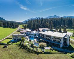 Biohotel Holzleiten: Außenaufnahme - Bio-Wellnesshotel Holzleiten , Obsteig, Tirol, Österreich