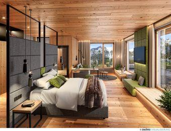 Doppelzimmer Wanneck Deluxe - Bio-Wellnesshotel Holzleiten