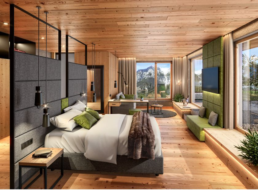 Biohotel Holzleiten: Wanneck Deluxe - Bio-Wellnesshotel Holzleiten , Obsteig, Tirol, Österreich