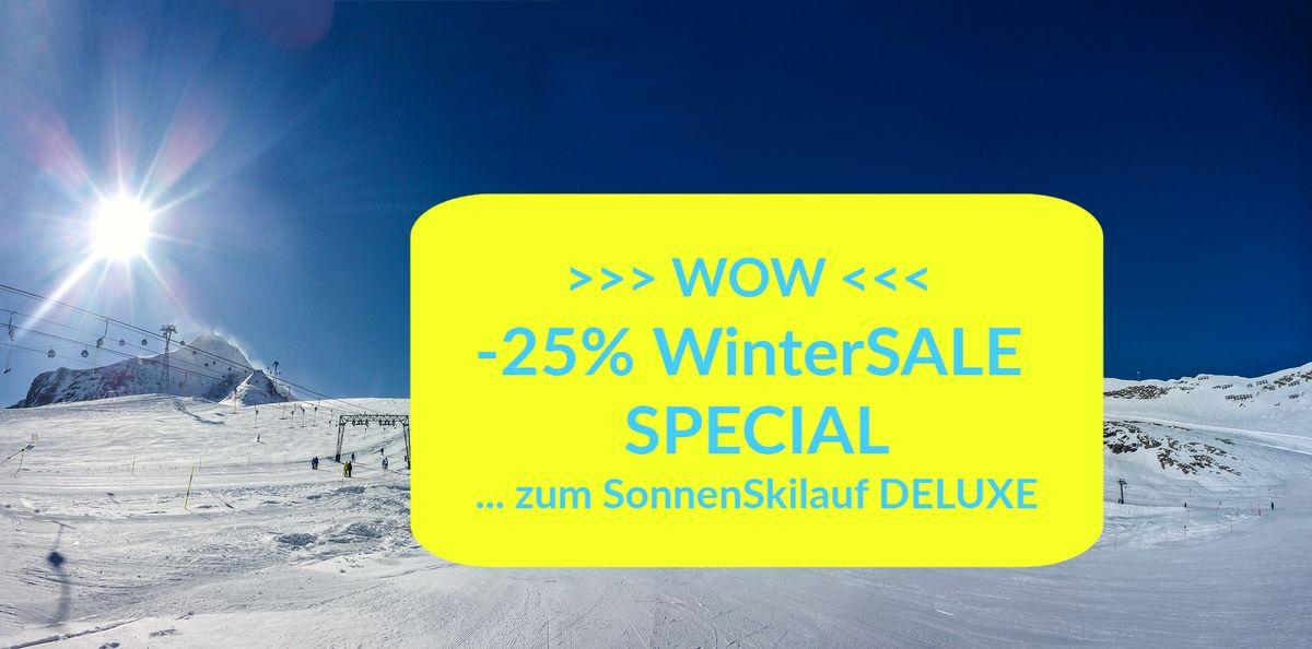 WOW! -25% WinterSALE Special | ab 3 ÜN