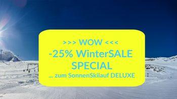 WOW! -25% WinterSALE Special   ab 3 ÜN