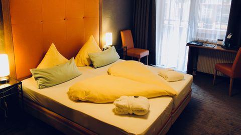 Comfortable twin room