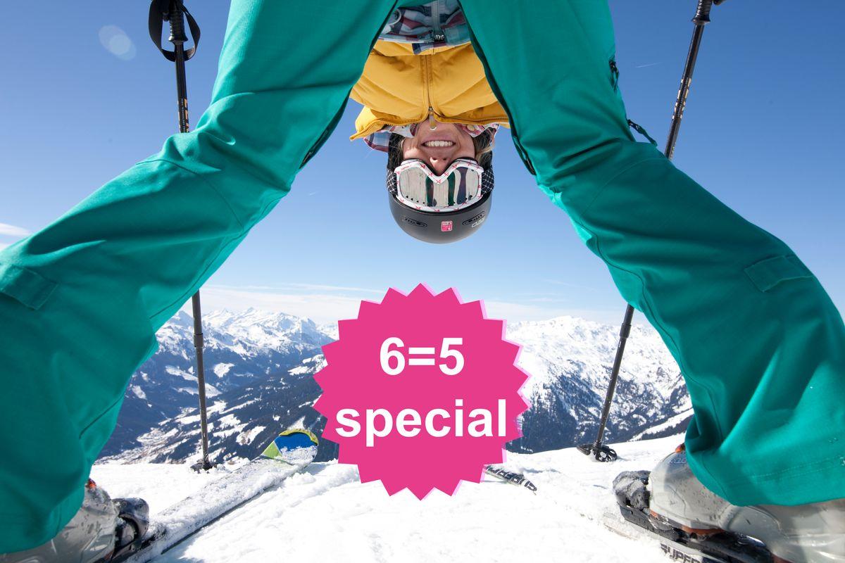 Ski Closing 6=5 Special | 1 Tag & 1 Nacht geschenkt