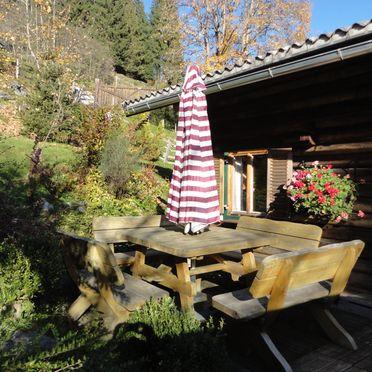Terrasse, Neukam Hütte in Bischofshofen, Salzburg, Salzburg, Österreich