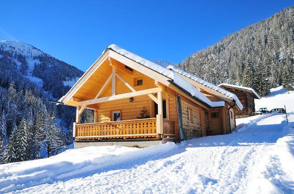 Winter, Hütte Höhenegg in St. Martin, Salzburg, Salzburg, Österreich