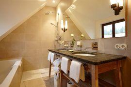 Badezimmer Bergkristall-Suite