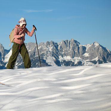 Obere Brunnalm, Winter
