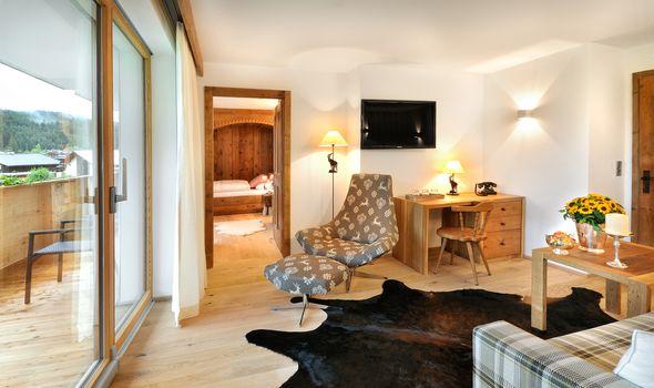 Suite Alpenveilchen 1 im Quellenhaus