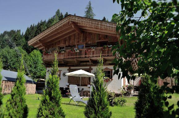 Sommer, Almchalet am Hochkönig, Mühlbach am Hochkönig, Salzburg, Salzburg, Österreich