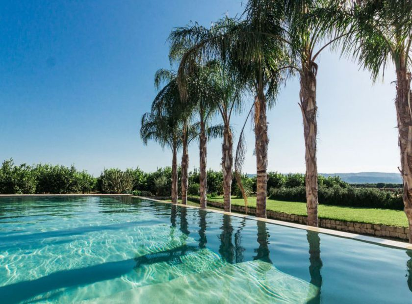 """BIO HOTEL La Casa di Melo: Pool - Bio-Agriturismo """"La Casa di Melo"""", Siracusa, Sizilien, Italien"""