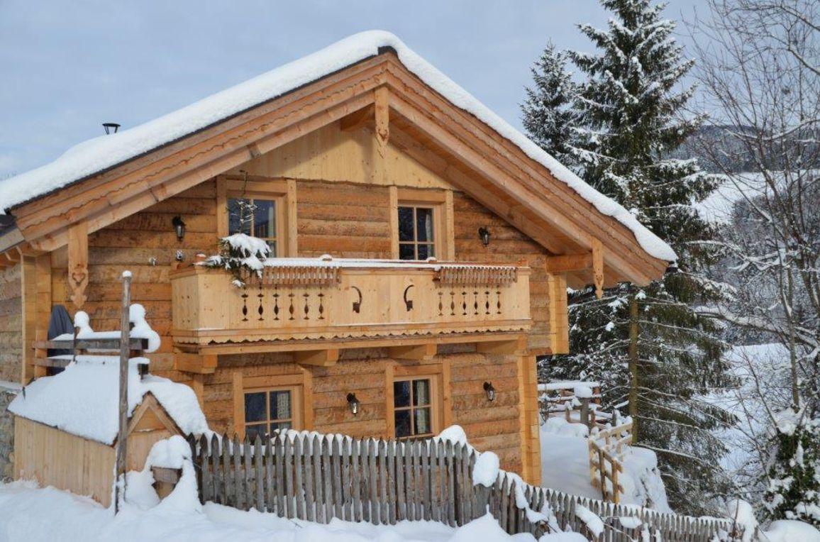 Chalet Steinbock, Winter