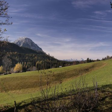 Hütte Weikhardt, Aussicht Dachstein
