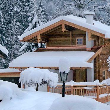 Winter, Bergchalet Klausner Die Hütte, Ramsau im Zillertal, Tirol, Tirol, Österreich