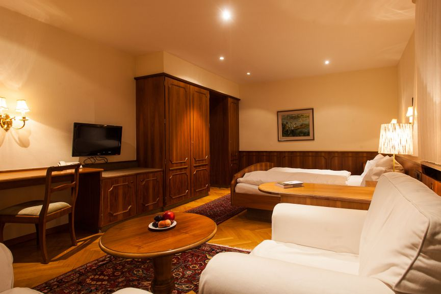 Schwarzwald Double room with seating area