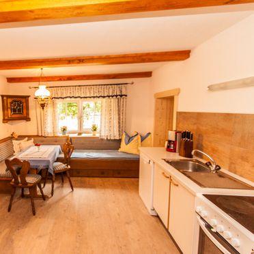Wohnküche, Bauernhaus Lammertal, St. Martin, Salzburg, Salzburg, Österreich