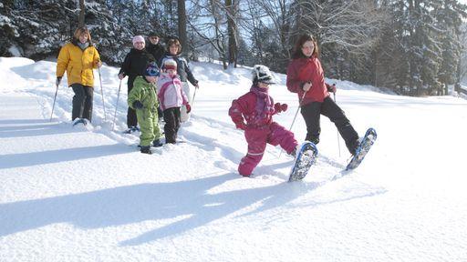 Winterurlaub am Winterwandertag 2018 im Hotel Krug Familotel Fichtelgebirge