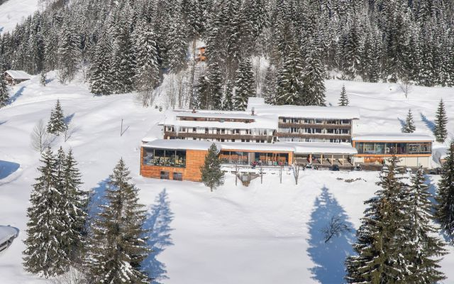 Winterzauber auf 1.100 m