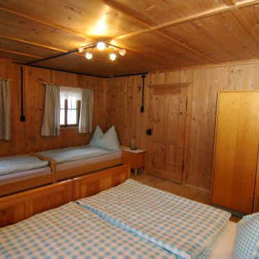 Stollenberghütte, Bedroom