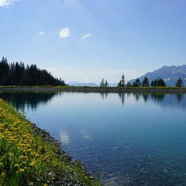 Speichersee Astberg, Chalet Alpenblick, Kitzbühel, Tirol, Tirol, Österreich