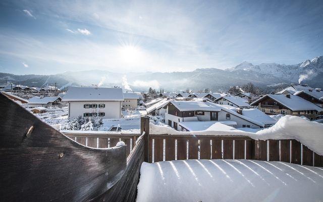 Hotel & Bierbrauerei Garmischer Hof: Ausblick vom Zimmer