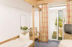 Camera singola comfort (2/2) - Biohotel & Bierbrauerei Garmischer Hof