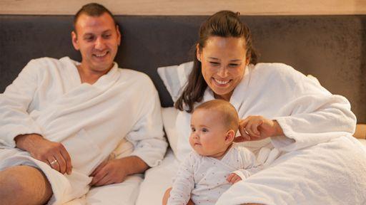 Ruhe und Entspannung für die ganze Familie.