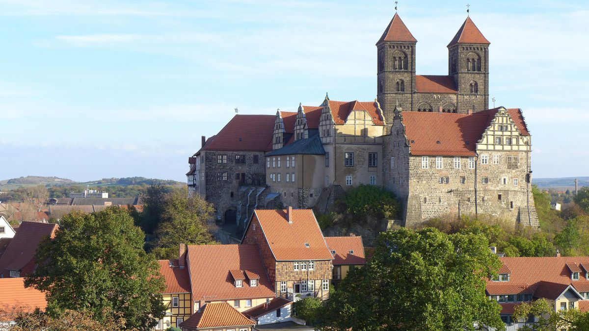 Himmelfahrt in Quedlinburg
