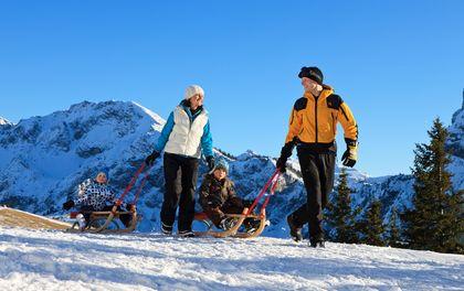 ab 7 Tg: Aktionswoche Winter:Ferien- & Familienzeit im Bavaria