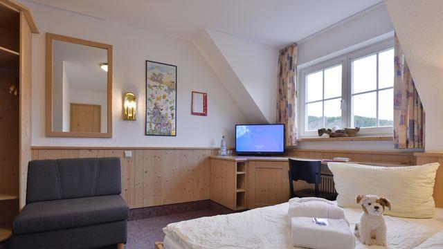 Doppelzimmer Kuschelnest | 20 m²