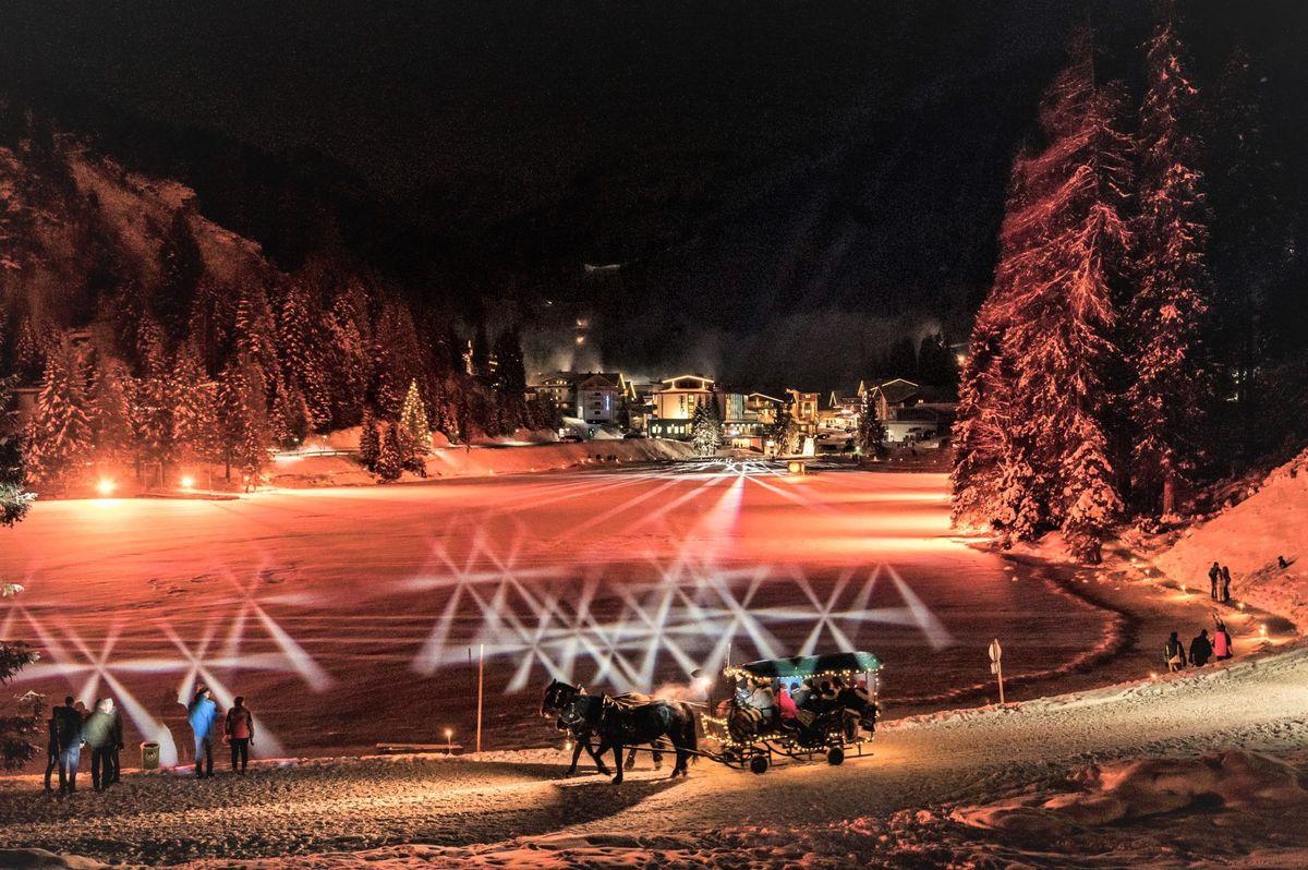 Bergsee.Advent