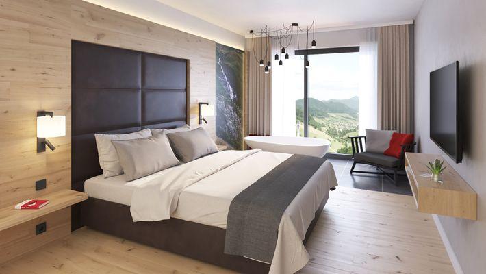 Hotel Zimmer: Luxus Suite - Schreinerhof in Schönberg