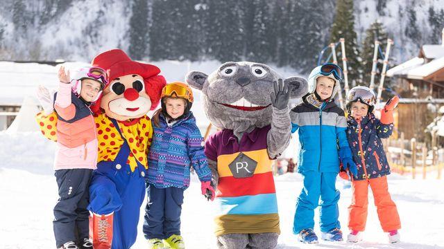 Little Stars auf Ski
