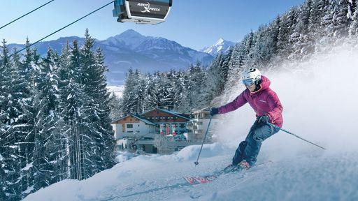 So grenzenlos ist der Spaß im Schnee nur bei uns im größten Skiraum Österreichs | Familotel Zell am See
