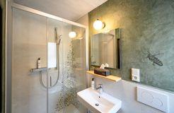 Biohotel Bavaria Garmisch-Partenkirchen Einzelzimmer bad (8/12) - Biohotel Bavaria