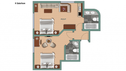 Appartements Appartement Gabelhorn