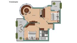 Appartements Appartement Zumsteinspitze