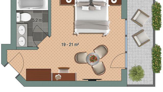 """Double room """"Eggishorn"""""""