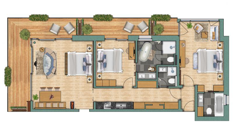 "Appartements Appartement ""Zinalrothorn"" Superior"