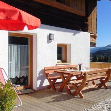 Sonnenterrasse, Hennleiten Hütte, Kitzbühel, Tirol, Tirol, Österreich