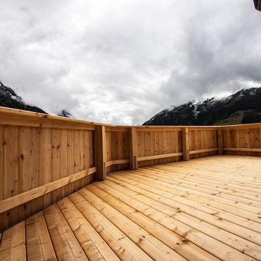 Terrasse , Bauernhaus Brandberg, Mayrhofen, Tirol, Tirol, Österreich