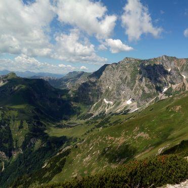 Aussicht, Bärbels Panoramahütte, Vordernberg, Steiermark, Steiermark, Österreich